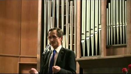 Nikolai Levichev Speaks at the Conservatory Knowledge Day in 2011