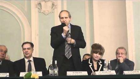 Подписание договора о сотрудничестве с МГУ. К. Зенкин