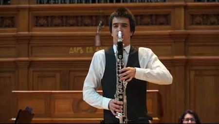 Pierre Max Dubois. Sonatina-tango for bassoon and piano (version for bass clarinet)