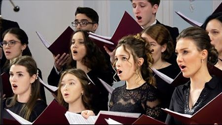 First-year students' choral practice