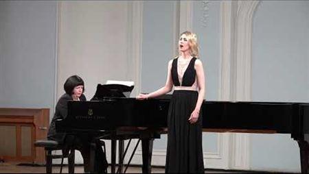 "Tchaikovsky. ""I opened the window..."" Performed by Anastasia Samarina"