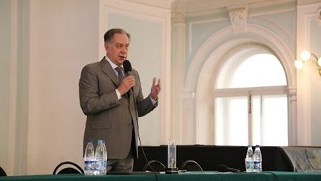 Prof. Alexander Sokolov's keynote speech at a conference of the Moscow Conservatory