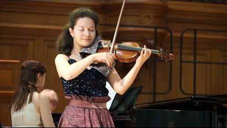 Myroslav Skoryk. Carpathian Rhapsody for violin and piano