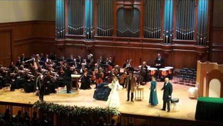Дж. Верди. «Травиата», IV акт, финал. Оперный театр Московской консерватории