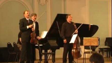Ф. Шуберт. Трио для фортепиано, скрипки и виолончели Ми-бемоль мажор, ор. 100. IV. Allegro moderato