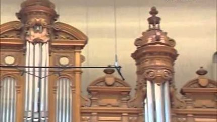 """The Construction in Detail."" The Moscow Conservatory Renovation on the 'Moscow 24' TV Channel"