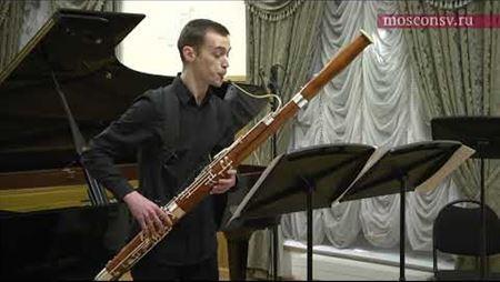 Хайнц Холлигер. «Klaus-Ur» для фагота соло (2002). Фрагмент