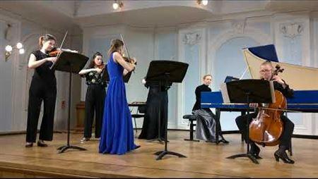 Ж.-М. Леклер. Концерт ля минор для скрипки и струнного оркестра