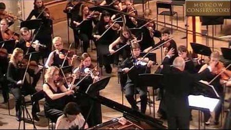 Chopin. Concerto No. 2 in F minor for piano and Orchestra
