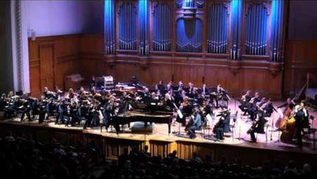 С. Рахманинов. Концерт № 2 для фортепиано с оркестром. Солист - Вадим Руденко