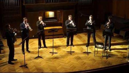 Николаус Кумбес. Концертный марш для 6 труб