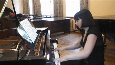 Диск-клавир Yamaha в Московской консерватории ч.3
