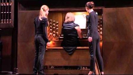 Олеся Кравченко (орган). С. Прокофьев-Ж. Гийу - Токката ре минор op. 11