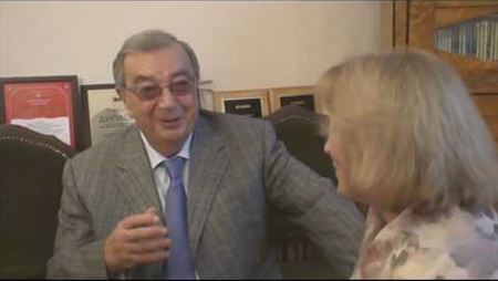 Интервью Е.М. Примакова на Попечительском совете МГК