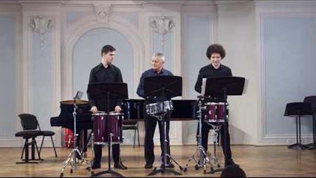 Saul Goodman. Trio for percussion