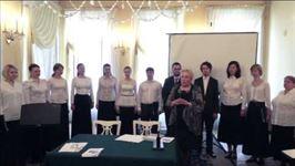 Поздравление В.В. Медушевского и А.Н. Мясоедова от ПСТГУ