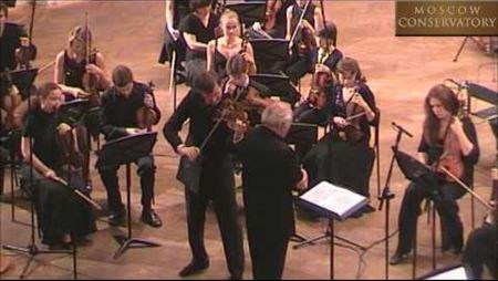 Jean Sibelius. Violin Concerto in D minor, Op. 47, part I