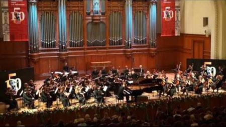 П. И. Чайковский. Концерт для фортепиано с оркестром № 1, часть I. Андрей Гугнин