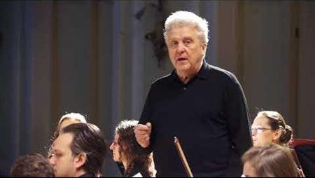 Master class of Vasily Sinaisky (fragment). Conductor – Diane Hoffmann