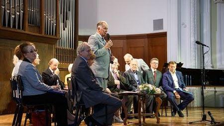 День знаний в Московской консерватории. Приветствия первокурсникам