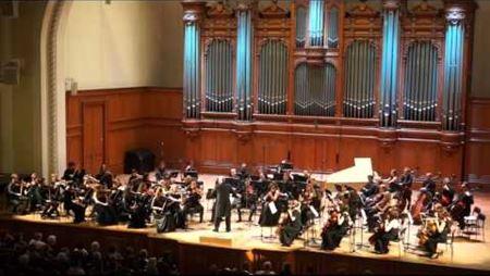 И. С. Бах. Ария из оркестровой сюиты №3. Дирижер - В. Спиваков