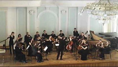 В. А. Моцарт - симфония № 20, К. 133. М. Емельянычев
