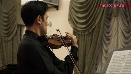 Хесус Гуриди «Элегия» для скрипки и фортепиано