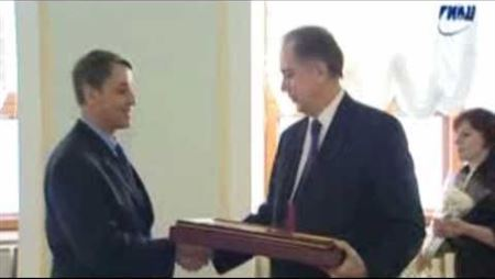 Rector Alexander Sokolov Is Awarded with the President's Certificate of Merit