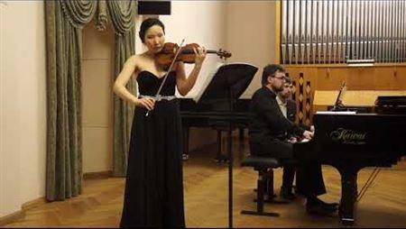 С. Прокофьев. Соната для скрипки и фортепиано №1,  ор. 80, фа минор