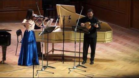 Giovanni Antonio Pandolfi Mealli. Sonata for Violin & Continuo, Op.3 No.4: La Castella