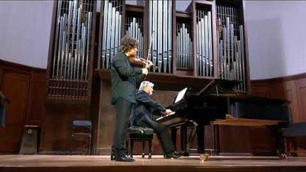Moris Ravel. <i>Tsigane</i>. Performed by Rodion Zamuruyev (violin) and Viktor Chernelevsky (piano)