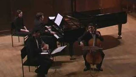 V. Ouryupin, T. Muradian, S. Khristenko. Brahms. Trio for clarinet, cello and piano: 1<sup>st</sup> movement