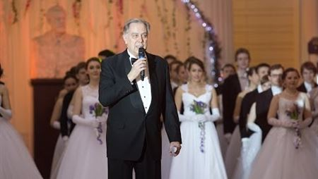Alexander Sokolov Welcomes the Participants of the Second Moscow Conservatory's Spring Ball