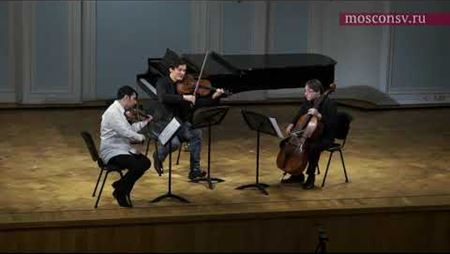 Beethoven. String Trio in E-flat major, op. 3: 1<sup>st</sup> mvt. Allegro con brio