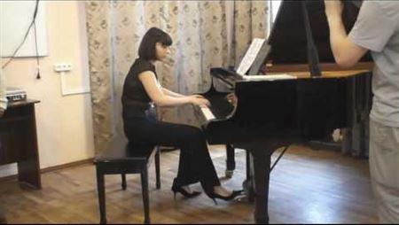 Диск-клавир Yamaha в Московской консерватории ч.2