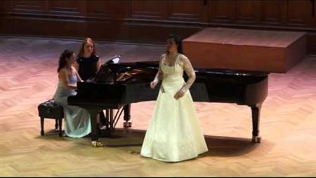 S, Rachmaninov «How nice it is here». Oksana Lesnichaya (soprano)