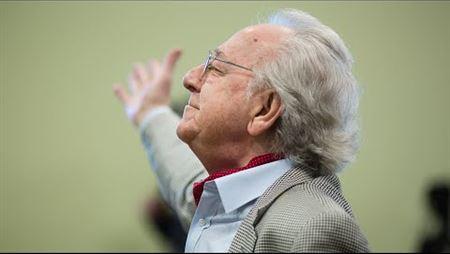 Master class of Yuri Temirkanov. Fragment. Conductor – Alexey Fedin