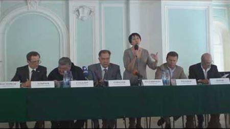 Galina Malanicheva at Russia's Civic Chamber Hearings