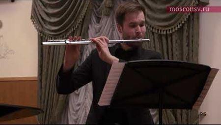 Erwin Schulhoff (1894–1942). Sonata for flute and piano: III. Aria. IV. Rondo. Finale