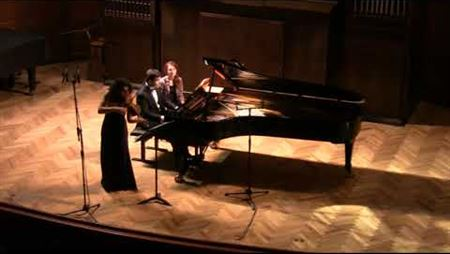 Franz Schubert. Rondo for violin and piano d-moll, op.70
