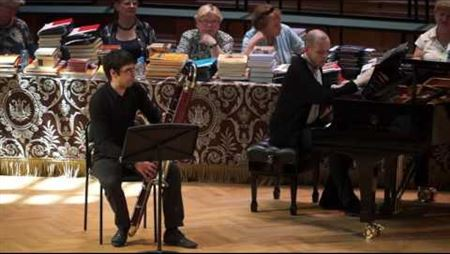 Andrew Besogonov. «Contrapiano» for  contrabassoon and piano