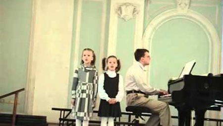 Детишник камерного хора 8 марта 2011 года