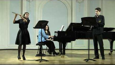 Камиль Сен-Санс. Тарантелла для флейты, кларнета и оркестра ля минор, соч. 6