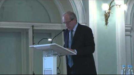 К. В. Зенкин на совместном заседании Учёных советов