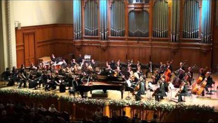 S. Rachmaninov. Piano concerto No.2 c-moll. Maxim Philippov (piano)