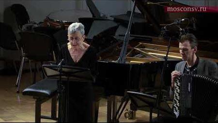 Alexei Syumak. Aria for soprano and piano accordion (2014). Fragment
