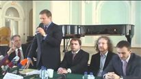 Пресс-конференция по реставрации БЗК