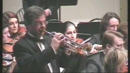 А. Арутюнян. Концерт для трубы с оркестром: часть 1