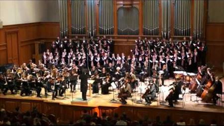 S. Taneyev «St. John of Damascus», cantata for mixed choir and orchestra