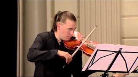 H. I. F. von Biber. Sonata 10, <i>The Crucifixion</i>. Perf. by Dmitry Sinkovsky (baroque violin)
